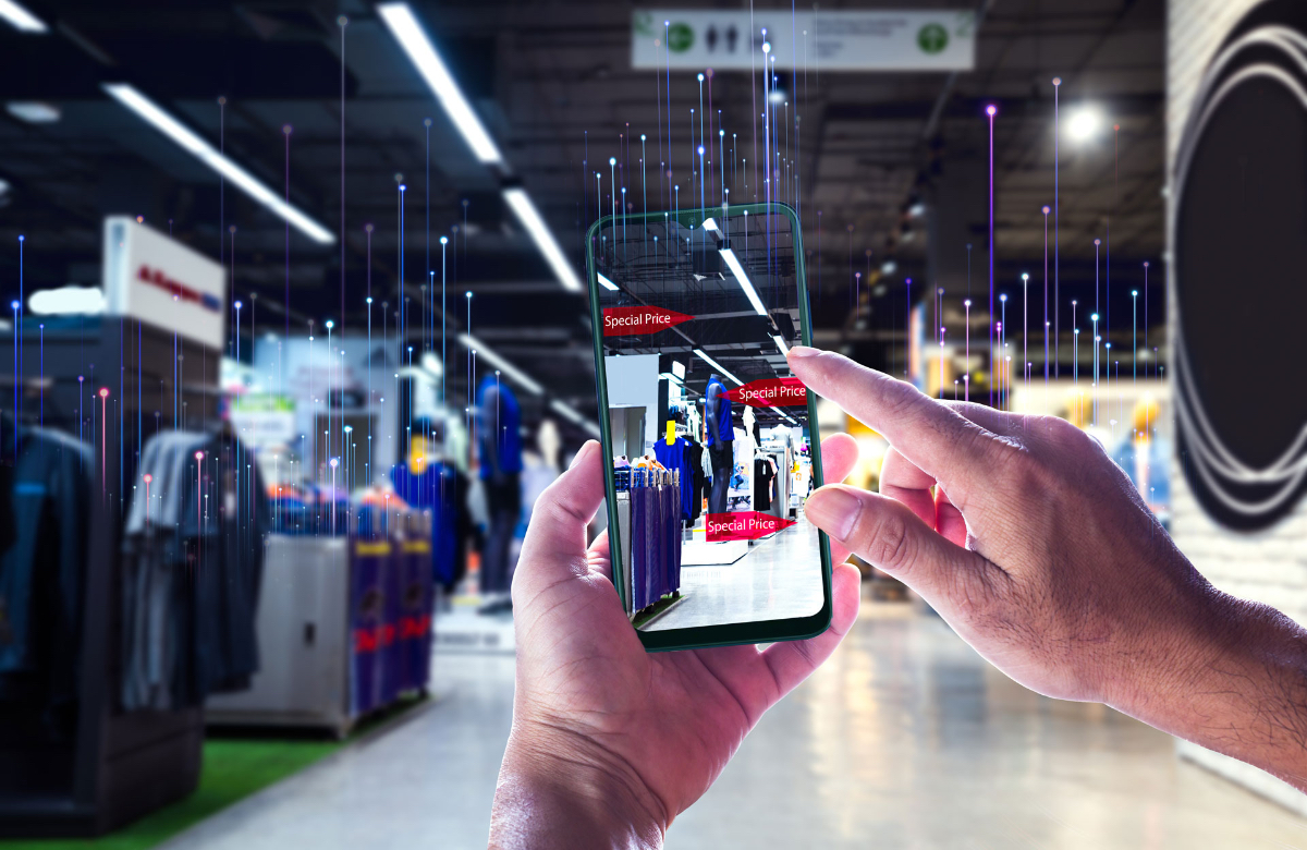 internet of things solutions in retail environment photo
